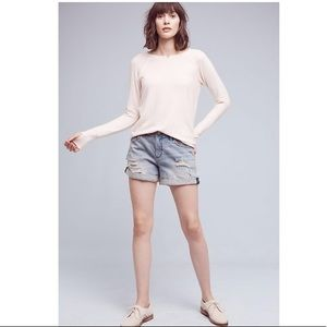 Anthropologie Pilco Hypen Denim Shorts